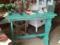 Shabby Green Table