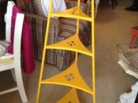 Yellow Iron Stand