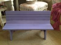 Mini Purple Bench