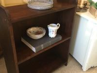 small mahog bookcase