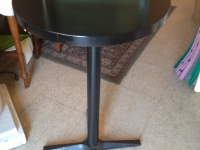 black-tall-table