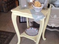 Vintage Yellow Table - sweet