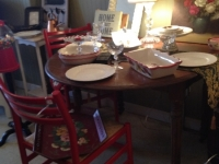 drop-leaf-dining-table