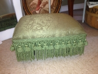 green-footstool