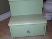green-step-stool