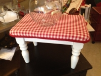 red-and-white-step-stool