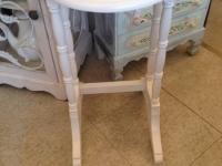 small-white-round-table