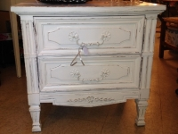 white-distressed-two-drawer