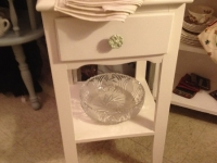 white-side-table